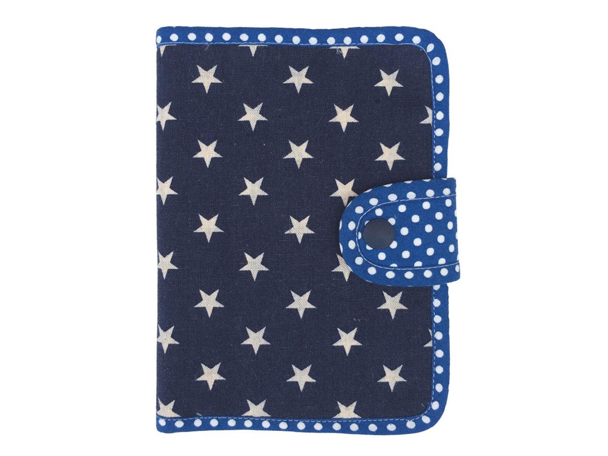 手帳&カードのマルチケース ☆ ポップスター ネイビー