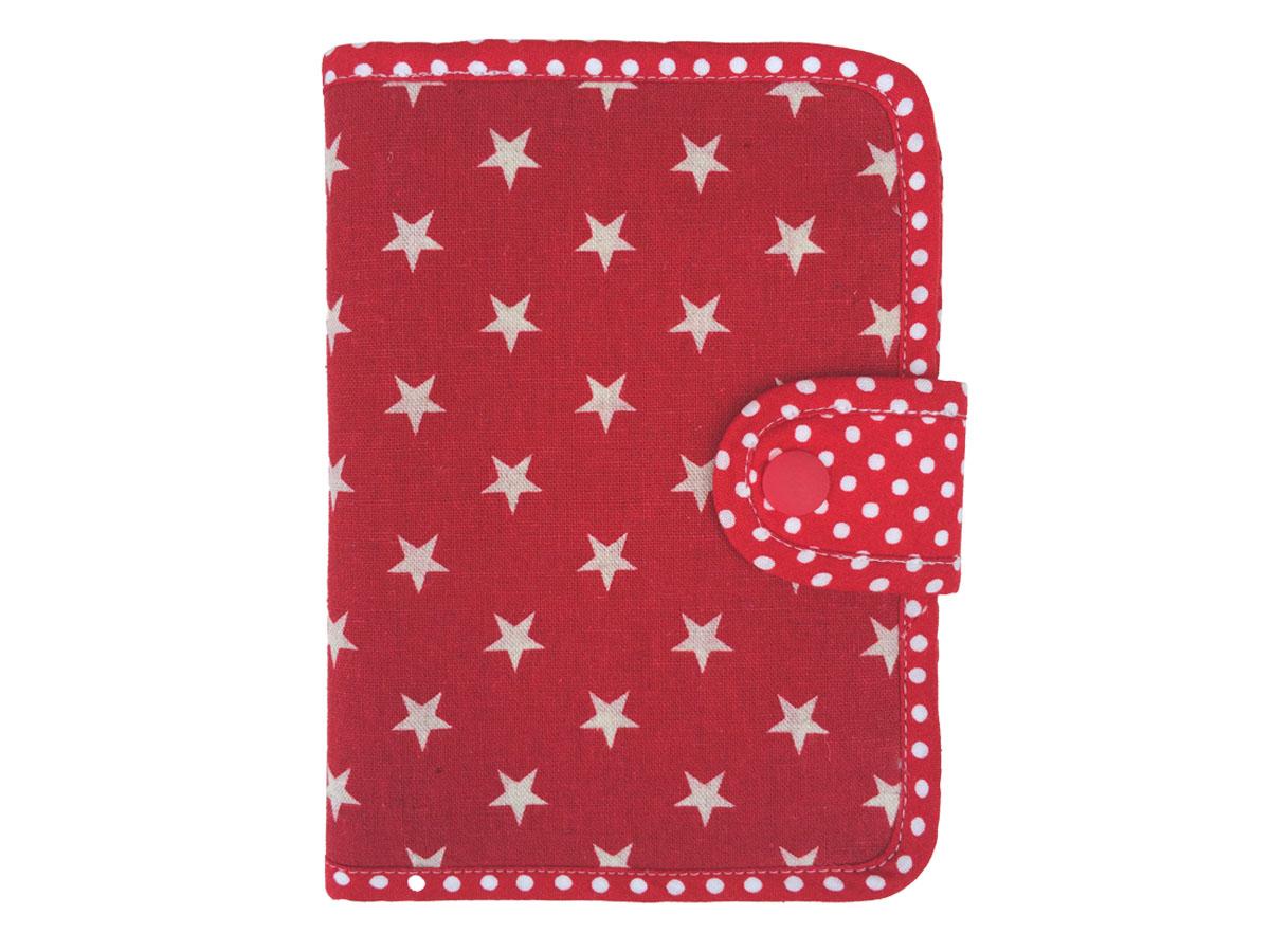 手帳&カードのマルチケース ☆ ポップスター レッド
