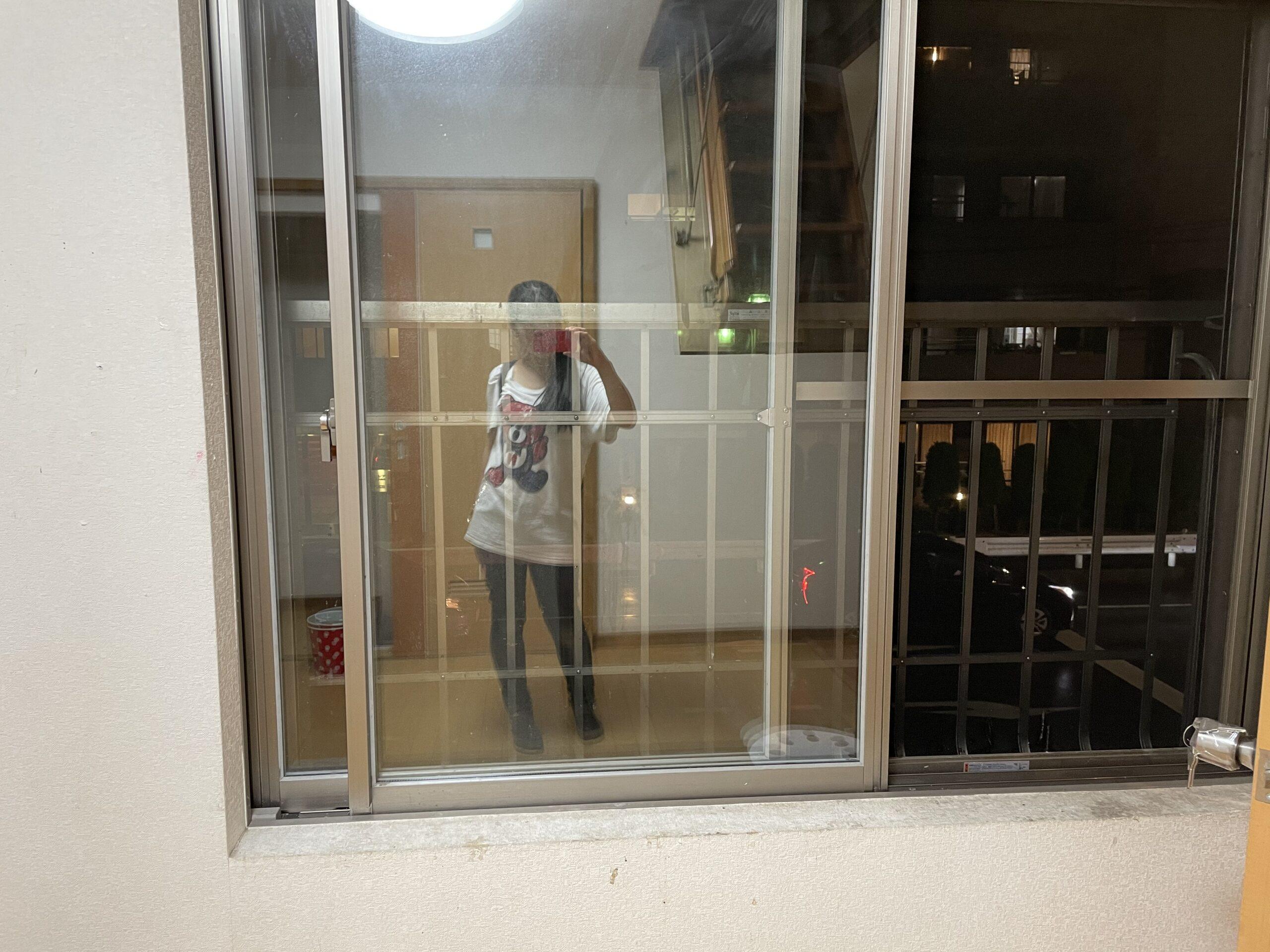 旧店舗2階窓